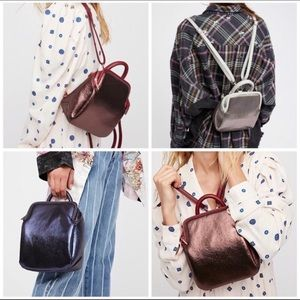 Free People | Moonlight Holographic Mini Backpack